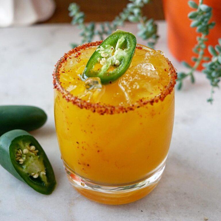 Shochu Cocktail Recipe: Nankai Chili Mango