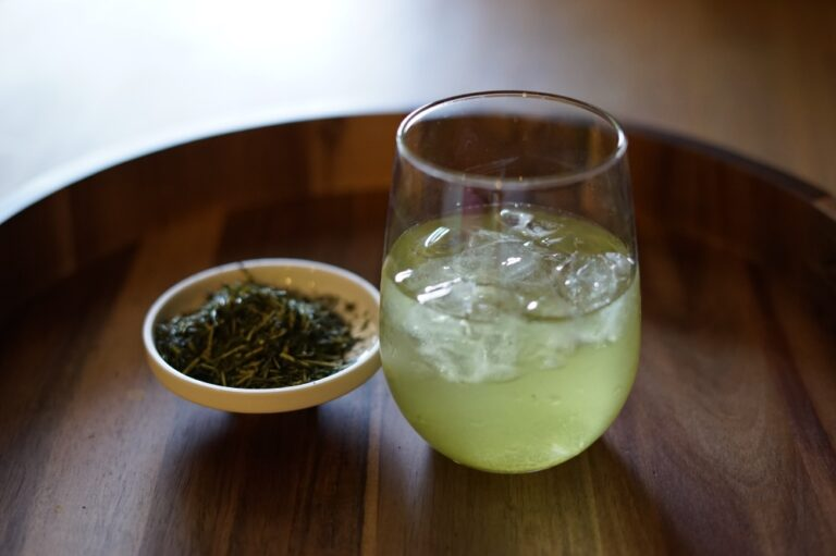 Shochu Cocktail Recipe: Nankai Green Tea