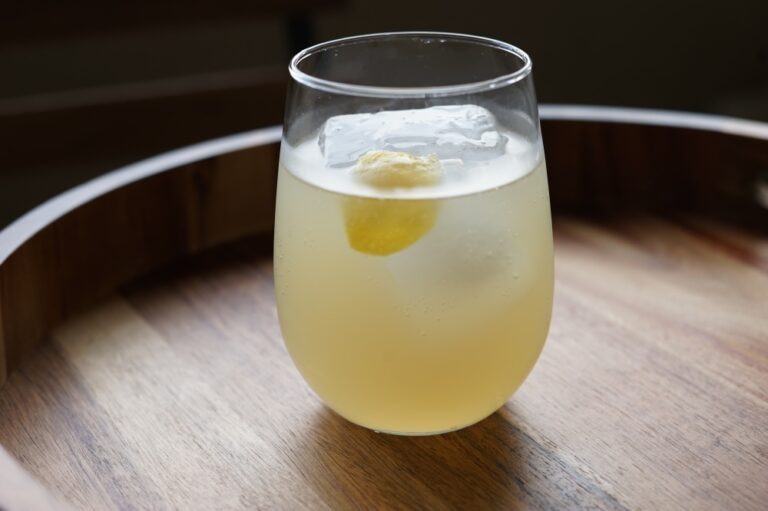 Shochu Cocktail Recipe: Yuzu Pop
