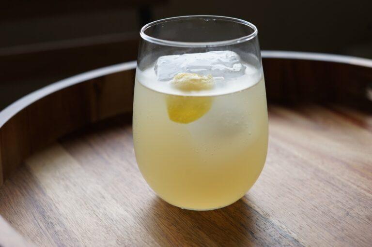Shochu Cocktail Recipe: Yuzu Pop