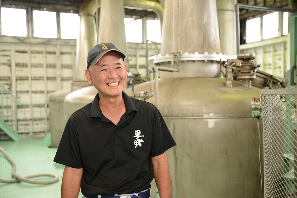Shochu Master Distiller Yoichiro Haseba
