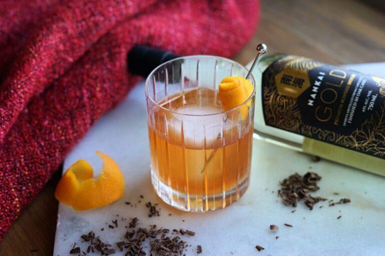 Shochu Cocktail Recipe: Nankai Gold Fashioned