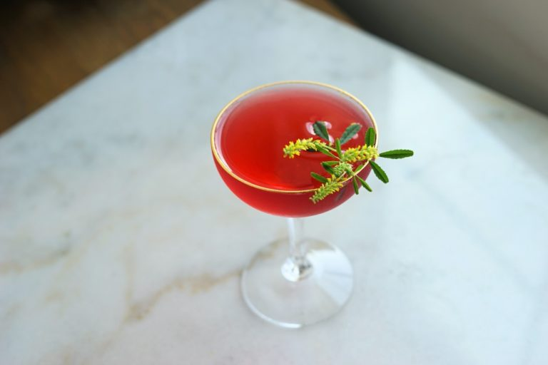 Shochu Cocktail Recipe: Nankai Rosehip Cocktail