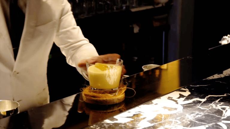 Shochu Cocktail Recipe: Trad Eggnog by Shuzo Nagumo