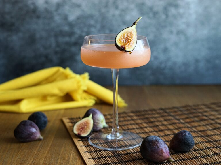 Shochu Cocktail Recipe: Fig Daiquiri