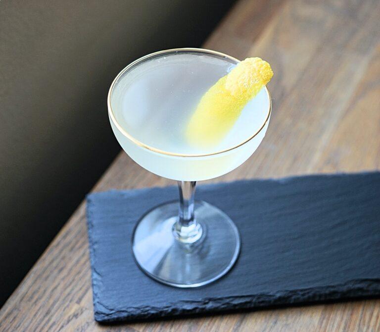 Shochu Cocktail Recipe: Yuzu Martini