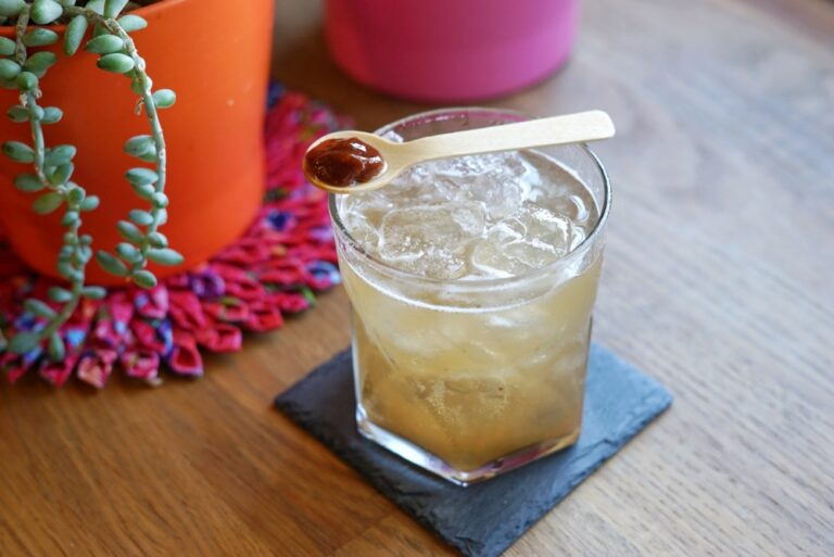 Shochu Cocktail Recipe: Tamarind Highball