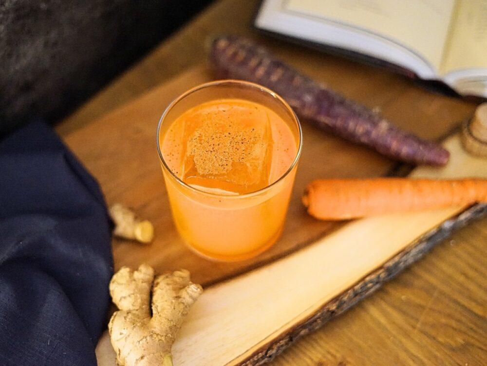 Nankai Gold Cocktail Carrot Ginger