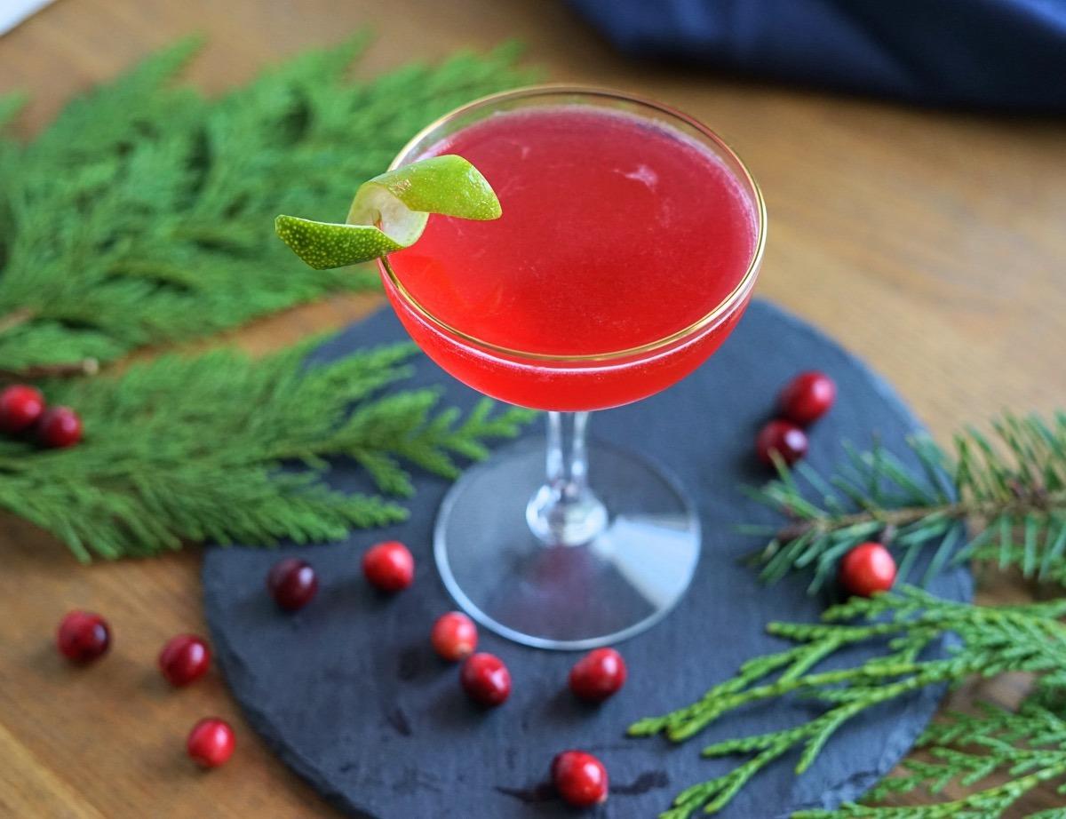 Shochu Cosmopolitan Cocktail