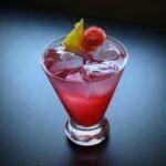 ume plum wine cocktail
