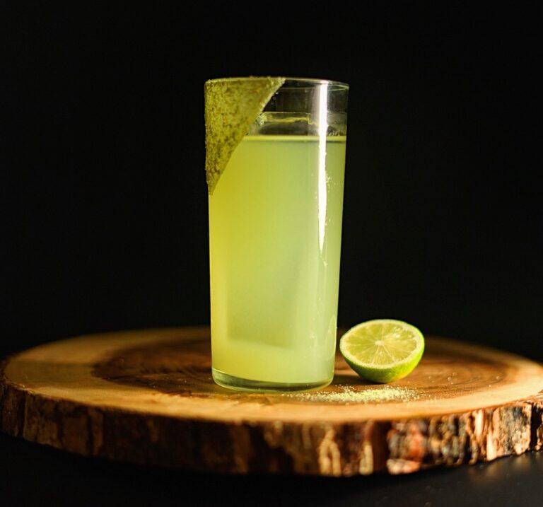 Shochu Cocktail Recipe: Cucumber Wasabi