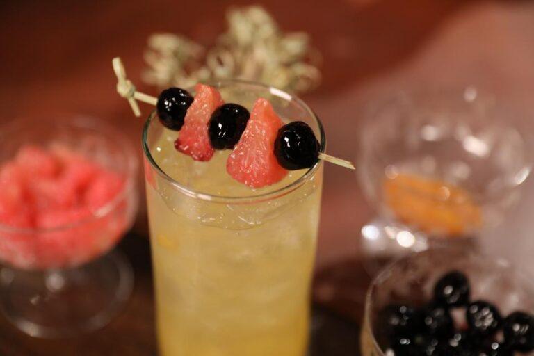 Shochu Cocktail: Nakatomi Tower Josh Gates Tonight