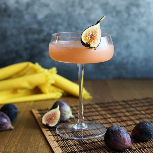 shochu fig cocktail