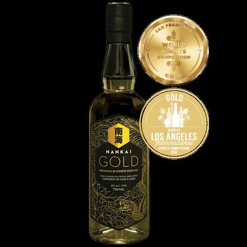 Nankai Gold Award-Winning Shochu